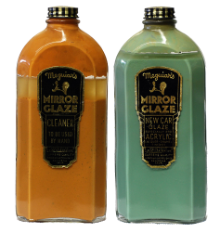 Meguiar's Mirror Glaze Antique Bottles
