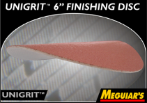 "Meguiar's Professional Unigrit™ 6"" Foam Finishing Discs"