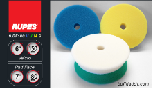 "Rupes 6"" Foam Buffing Pads"