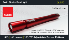 Rupes Swirl Finder LED Pen Light