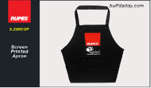 Rupes Screen Printed BigFoot Apron