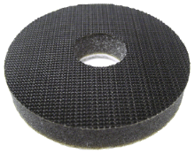 "Mirka 3"" Soft-Faced Interface Pad (with hole)- 1/2"" thick"