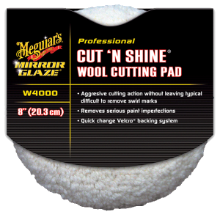 "Meguiar's 8"" Cut 'N Shine Wool Pad"