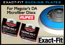Rupes Exact-Fit Backing Plates for Meguiar's DA Microfiber Discs