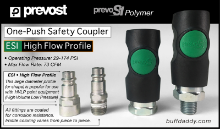 Prevost PREVO S1 Safety Coupler- High Flow Profile