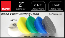 "Rupes 2"" Foam Buffing Pads"