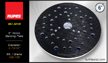 "Rupes 6"" Velcro Backing Plate"