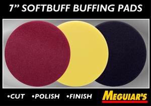 "Meguiar's 7"" Soft Buff 2.0 Foam Pads"