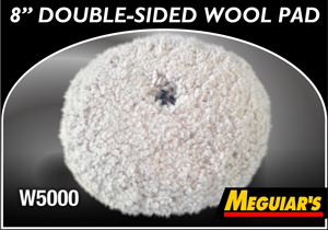 "Meguiar's 8"" Double-Sided Wool Pad"