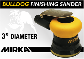 "Mirka Bulldog 3"" Random Orbital Finishing Sander"