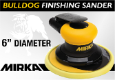 "Mirka Bulldog 6"" Random Orbital Finishing Sander"