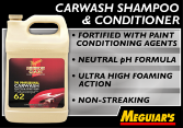 Meguiar's Professional Carwash Shampoo & Conditioner