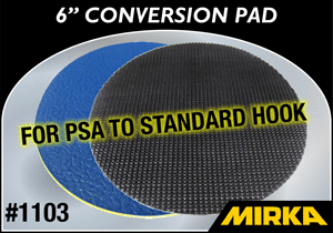 "Mirka 3"" Conversion Pad- PSA to Hook"