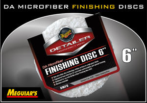 "Meguiar's 6"" DA Microfiber Finishing Disc"