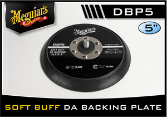 "Meguiar's Soft Buff 5"" D/A Backing Plate"