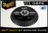 "Meguiar's Soft Buff 6"" D/A Backing Plate"