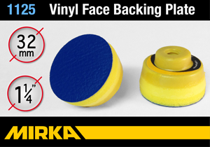 "Mirka 1-1/4"" (32mm) Diameter Vinyl Backing Plate"