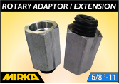 Mirka Rotary Adaptor/Extension