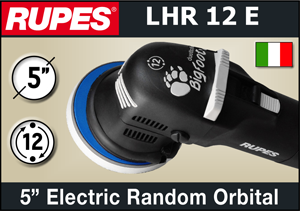 "Rupes BigFoot 5"" Duetto Electric Random Orbital Polisher"