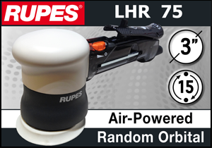 "Rupes BigFoot 3"" Air-Powered Mini Random Orbital Polisher"