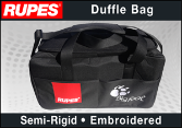 Rupes Embroidered BigFoot Duffle Bag