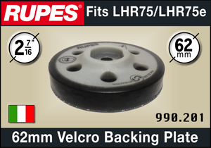 Rupes 62mm Backing Plate - fits LHR75