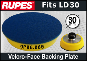Rupes 30mm Vinyl-Face Backing Plate - fits LD30