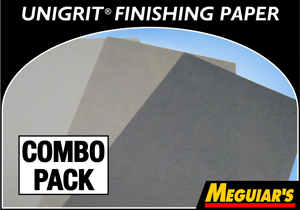 Meguiar's Unigrit® Finishing Paper 12-Piece Combo Pack