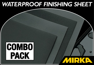 Mirka Waterproof Finishing Sheet 21-Piece Combo Pack