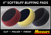 "Meguiar's 4"" Soft Buff Foam Pads"