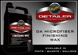 Meguiar's DA Microfiber Finishing Wax