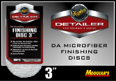 "Meguiar's 3"" DA Microfiber Finishing Disc"