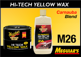 Meguiar's Professional Hi-Tech Yellow Wax