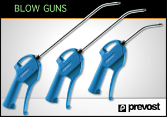 Prevost Blowguns- Traditional Style