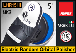 "Rupes BigFoot Marklll (Mark 3) 5"" Electric Random Orbital Polisher"
