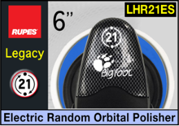 "Rupes LEGACY BigFoot 6"" Electric Random Orbital Polisher"