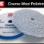"The Rupes 9.BW180H 6"" Blue Coarse Wool Polishing Pad features a diverse string length & density combination designed to deliver fast cutting action, without the heavy scouring typically associated with heavy-cut wool pads.<br/><br/>Available in 1-inch, 2-inch, 3-inch, 5-inch, and 6-inch diameters. BIGFOOT.<br/><br/>Actual dimensions:<br/>(Velcro: 6"" 