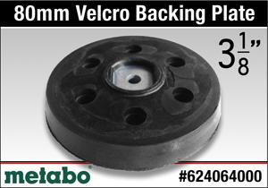 Metabo 624064000 Backing Pad